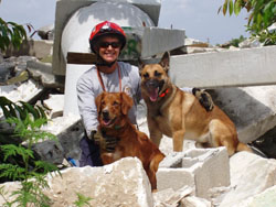 Search and rescue dogs help rescue thousands of people!
